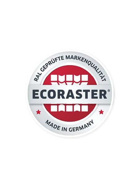 [Translate to Englisch:] ECORASTER made in germany