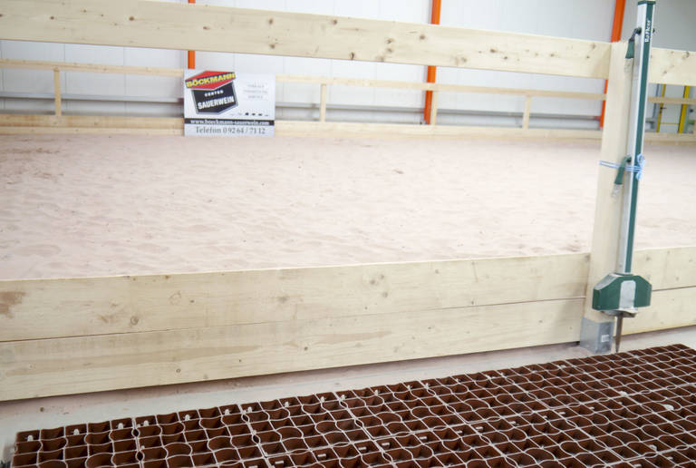 Böckmann Center Sauerwein Johannistal – indoor riding arena surface